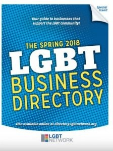 View the Printed Spring 2018 LGBT Business Directory & Job Board!