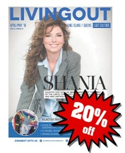 20% Off Living Out Advertising
